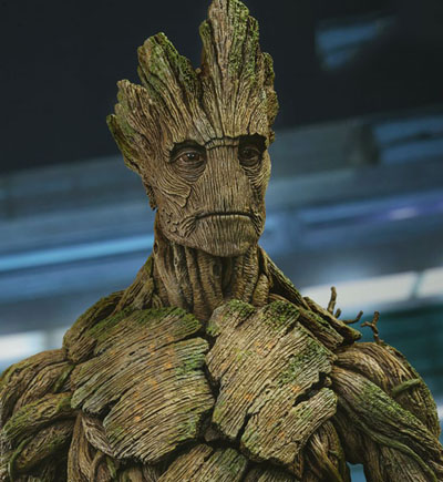 Groot from Guardians of the Galaxy Vol 1 MCU by Hot Toys