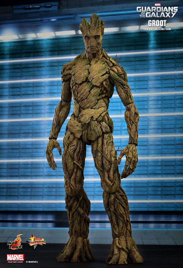 Guardians Of The Galaxy Groot from Hot Toys