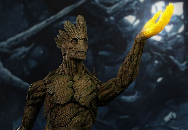 I Am Groot - Guardians of the Galacy sixth Scale Hot Toys