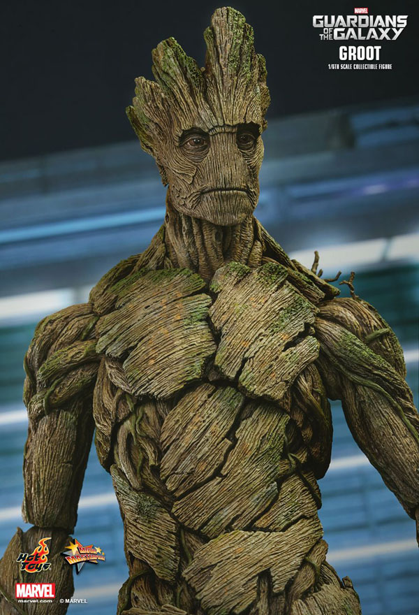 Hot Toys Groot from Guardians Of The Galaxy 1/6th scale Collectible Figure