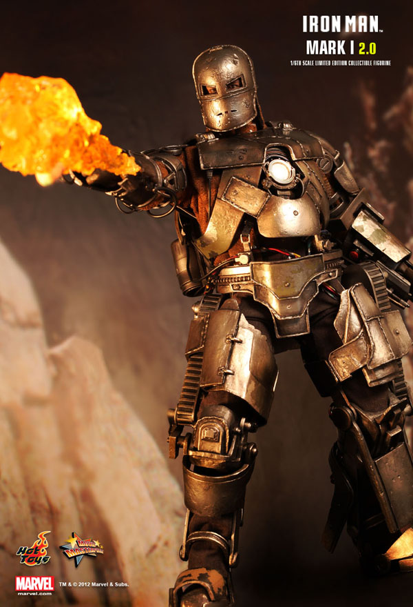 Hot Toys Iron Man Mark 1 with Flamethrower