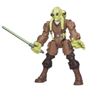 Kit Fisto Star Wars Hero Masher Figure