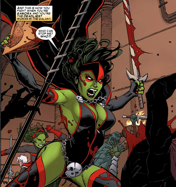 Gamora in Guardians of The Galaxy: Realm Of Kings