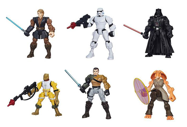Star Wars Mashers - Hasbro Hero Mashers Collection