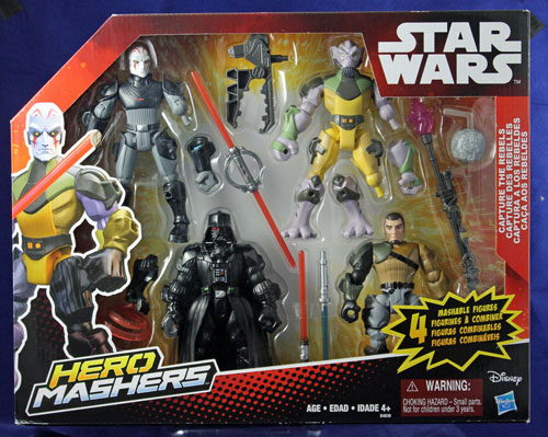 Capture the Rebels Star Wars Mashers Multipack by Hasbro