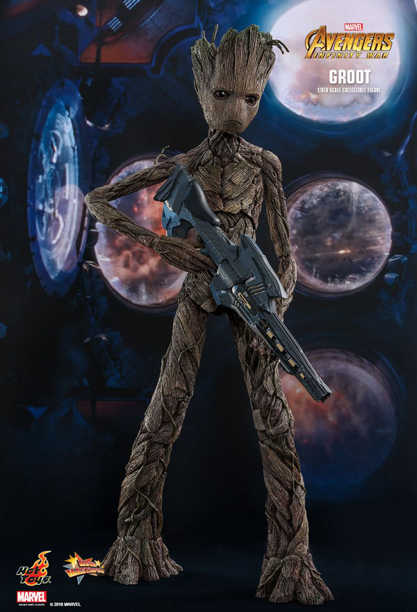 Teenage Groot Hot Toys 1/6 Scale Figure