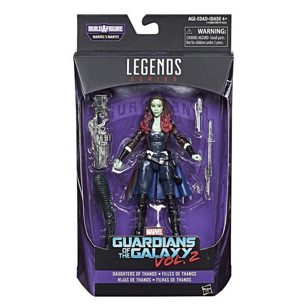 Gamora - Guardians of the Galaxy Vol 2 - Marvel Legends Series - Daughters of Thanos