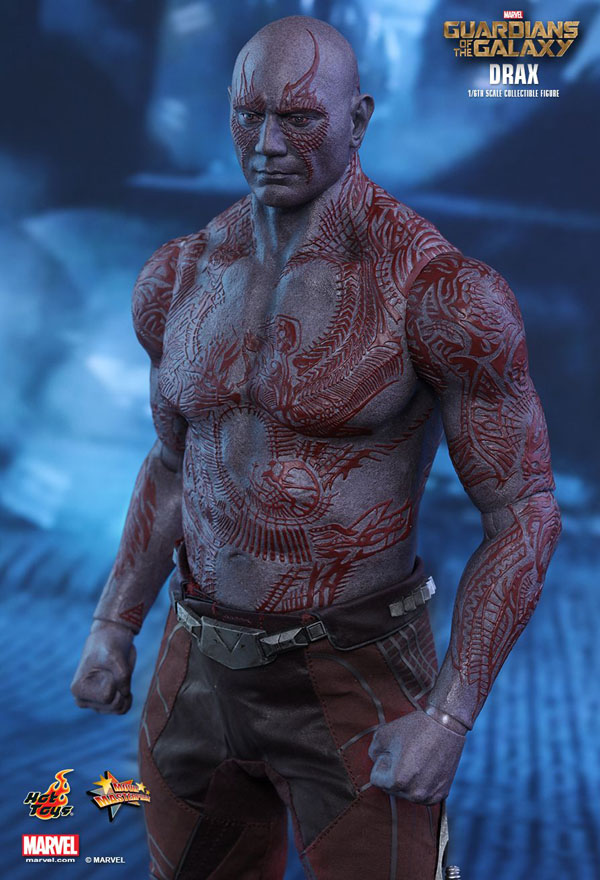 Drax the Destroyer Hot Toys 1/6 scale figure from Guardians of the Galaxy