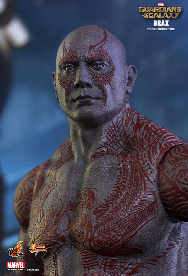 Drax Guardians of the Galaxy Hot Toys 1/6 Scale Figure