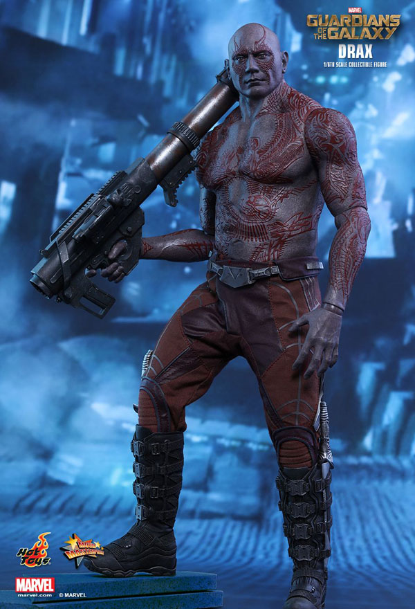 1/6th scale movie-accurare Drax the Destroyer Collectible Figure