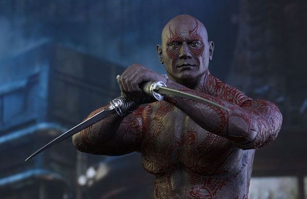 Drax the Destroyer Hot Toys Guardians of the Galaxy 1/6 Scale Figure