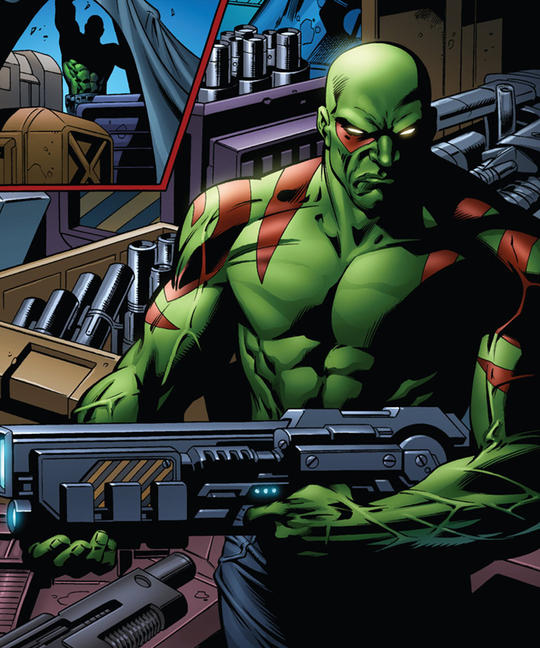 Drax the Destroyer in Marvel Comics