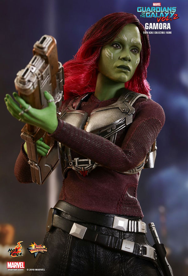 Gamora Guardians of the Galaxy Vol. 2 Hot Toys 1/6 Scale Figure