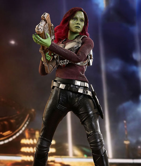 Gamora Hot Toys 1/6th Scale Collectible Figure from Guardians of the Galaxy Vol. 2