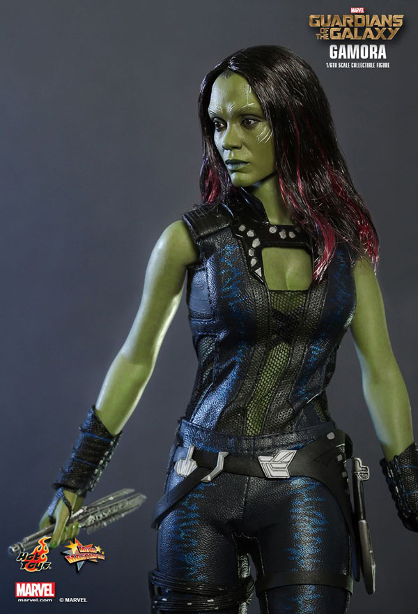 Guardians of the Galaxy Gamora 1/6 scale Hot Toys figure