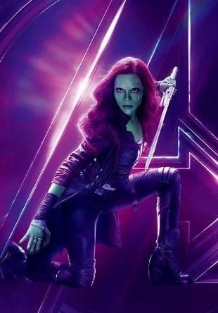Gamora - Zoe Saldana -MCU