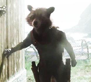 Rocket Raccoon - Sean Gunn - Bradley Cooper - MCU