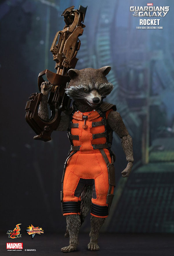 Rocket Racoon in Guardians of the Galaxy Vol. 1