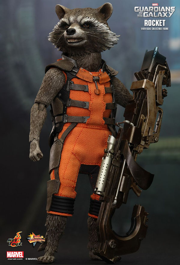 1/6 Scale Rocket Racoon Figure by Hot Toys