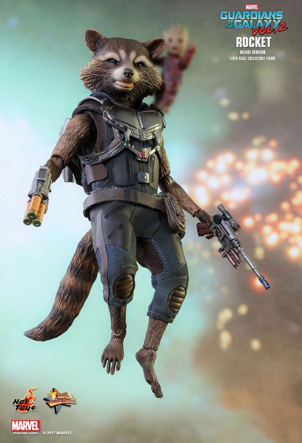 Hot Toys Rocket Racoon 1/6 scale figure