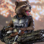 Rocket Racoon Hot Toys from Guardians of the Galaxy Vol 2