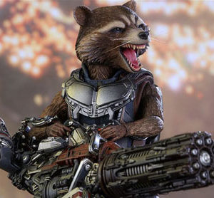 Rocket Racoon Hot Toys Guardians of the Galaxy Vol 2