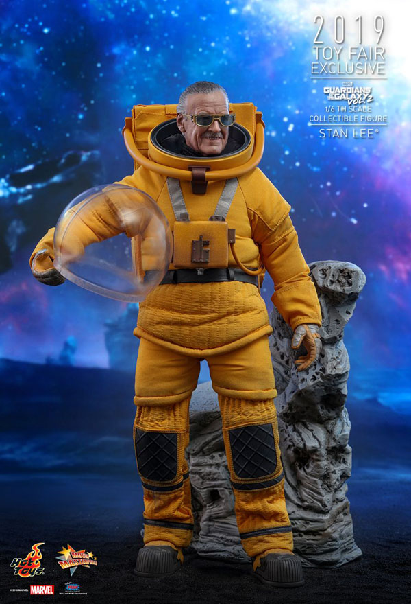 Stan Lee Guardians of the Galaxy Vol. 2 Hot Toys 1/6 Scale Figure