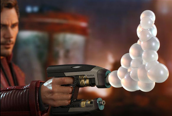 Star Lord Hot Toys Bubble Gun