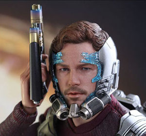 Star Lord Hot Toys Guardians of The Galaxy Vol 2