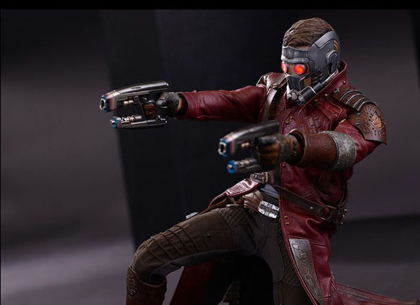 Peter Quill as Star Lord in Guardians of the Galaxy