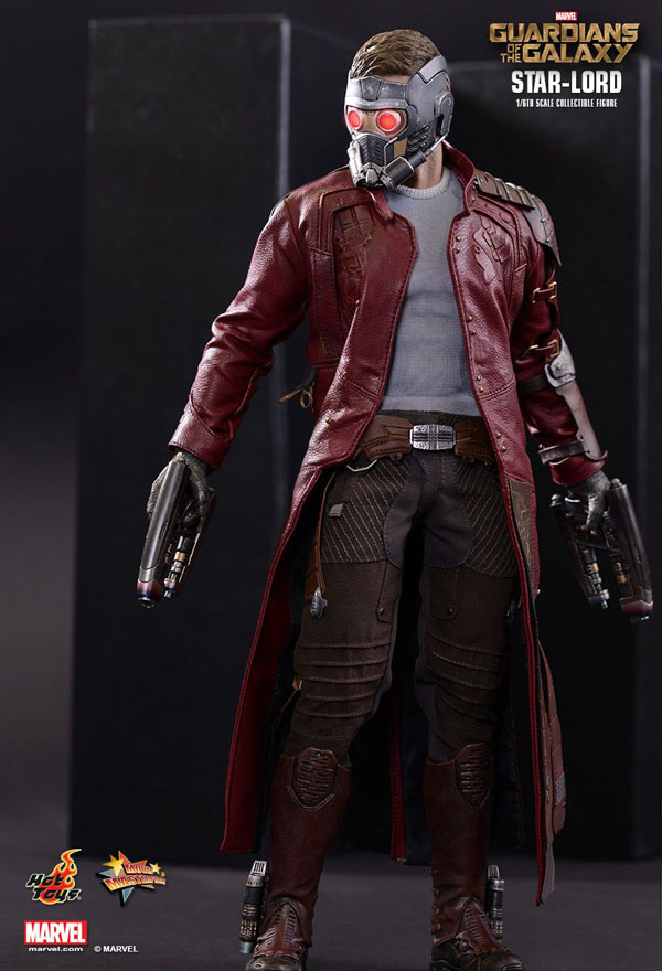 Star Lord Hot Toys from Guardians Of The Galaxy
