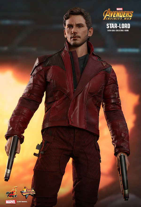 Star Lord Infinity War Hot Toys 1/6 Scale Figure