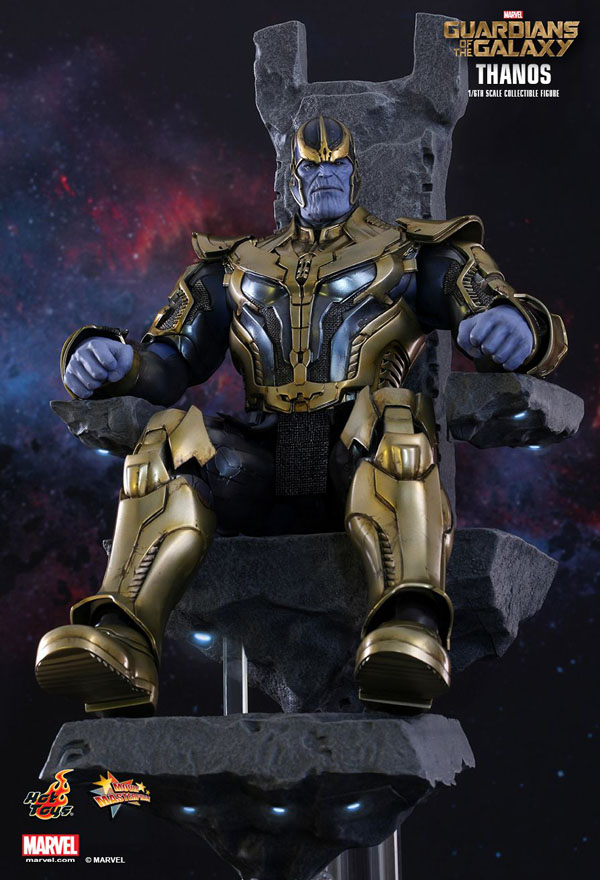 Thanos Guardians of the Galaxy Hot Toys 1/6 Scale Figure