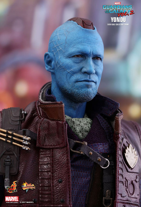 Hot Toys sculpt of Yondu in Guardians of the Galaxy Vol. 2 played by Michael Rooker