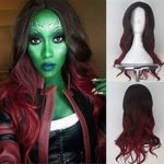 Gamora Cosplay Wig : Guardians of The Galaxy