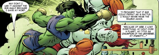 How Gamora helped She Hulk defeat the Champion of the Universe