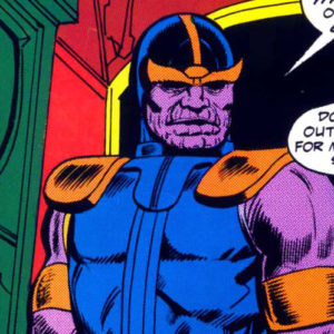 First Full Appearance of Thanos