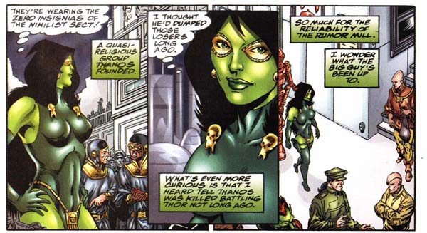 Gamora and the Nihilist sect
