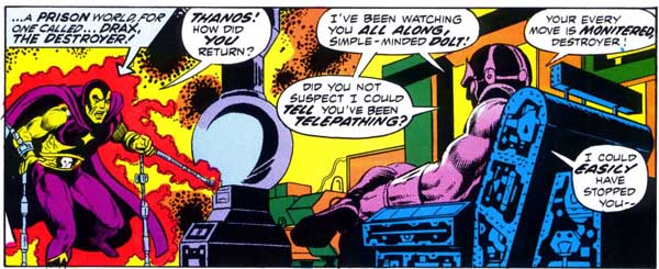 First Appearance of Thanos
