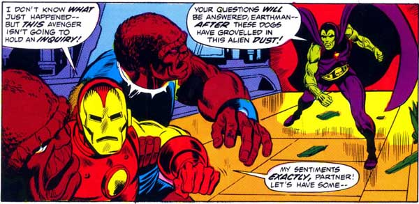 Iron Man Frees Drax