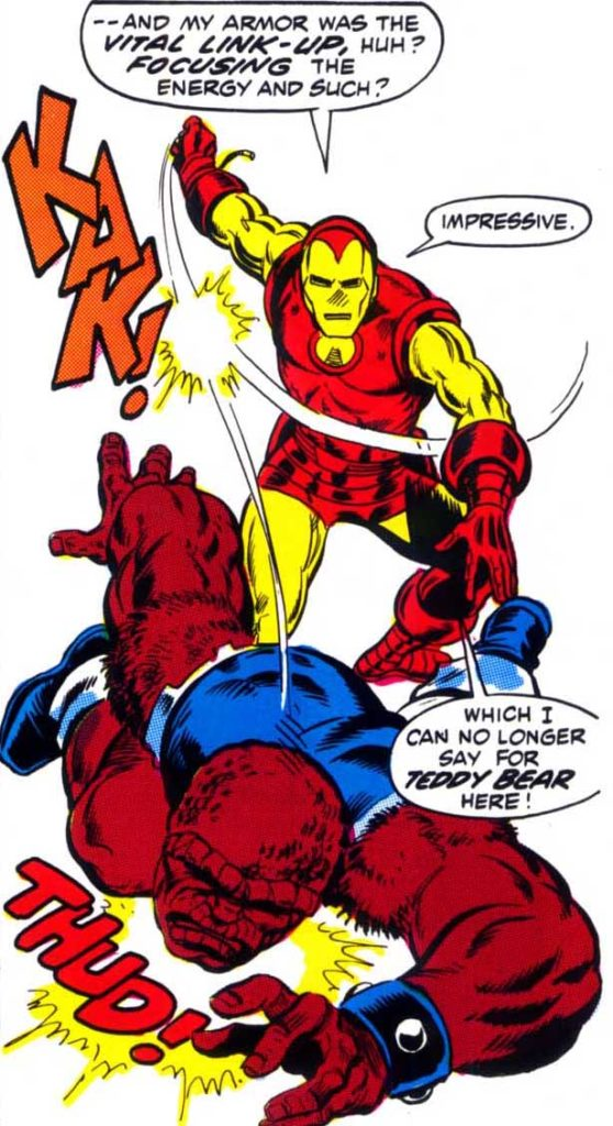 Iron Man Defeats Blood Brothers
