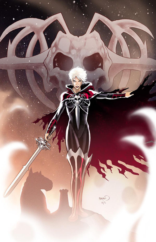 Phyla-Vell from Marvel Comics