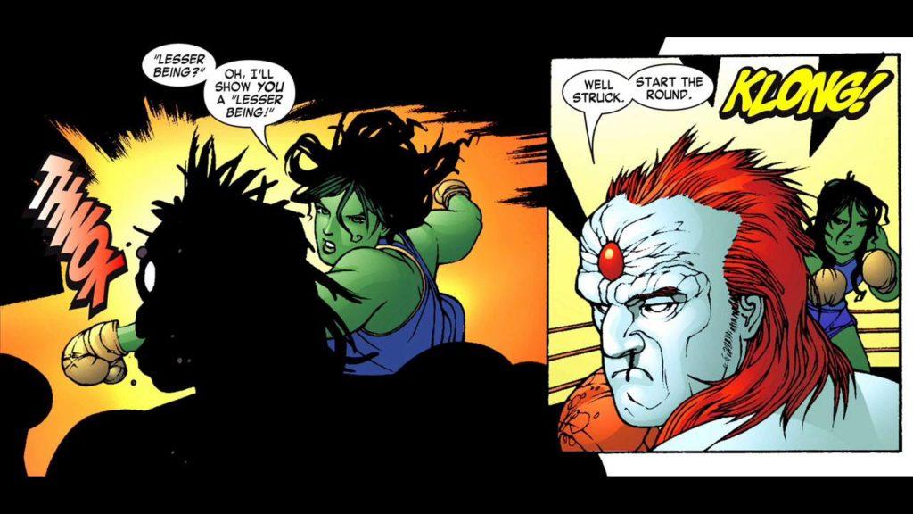 The Champion of the Universe Vs She Hulk