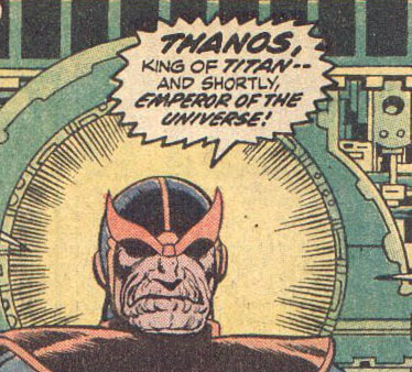 Betrayal! Thanos in Marvel Comics