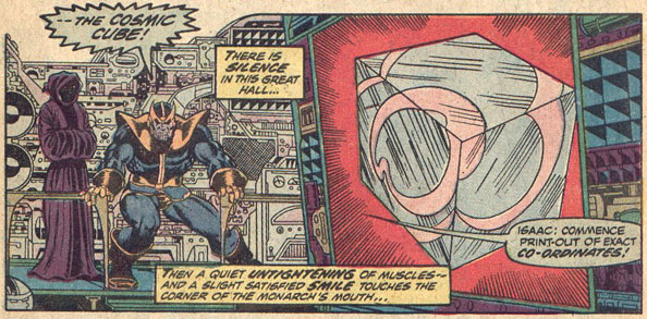 Thanos Seeks The  Cosmic Cube