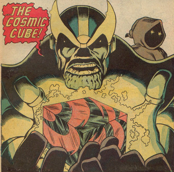Thanos claims The Cosmic Cube!
