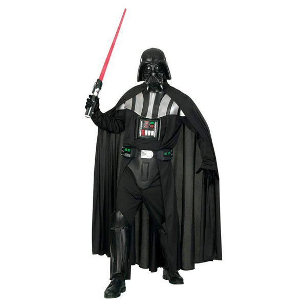 Deluxe Darth Vader Star Wars Costumes For Adults