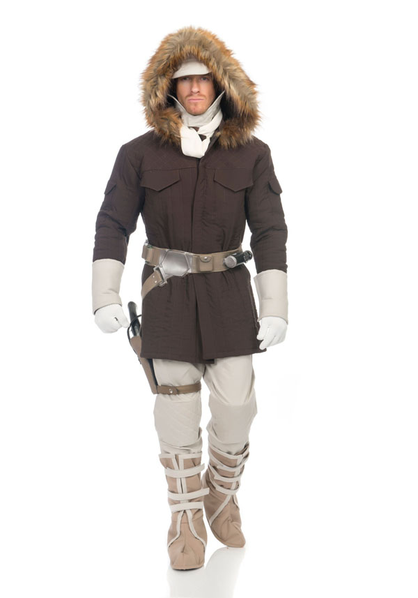 Star Wars Mens Charades Han Solo Hoth Costume