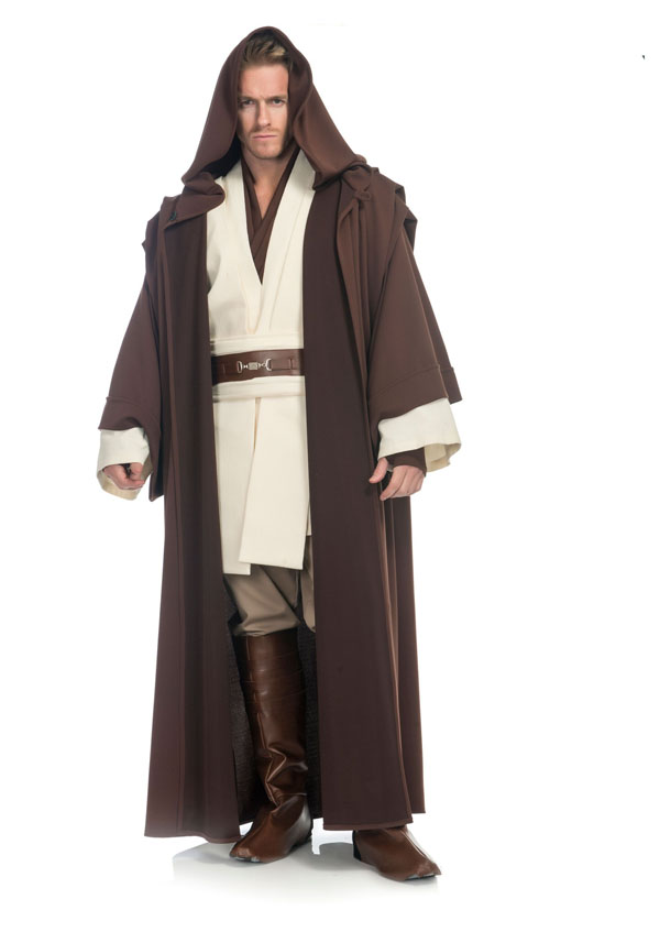 Mens Charades Obi-Wan Kenobi Costume