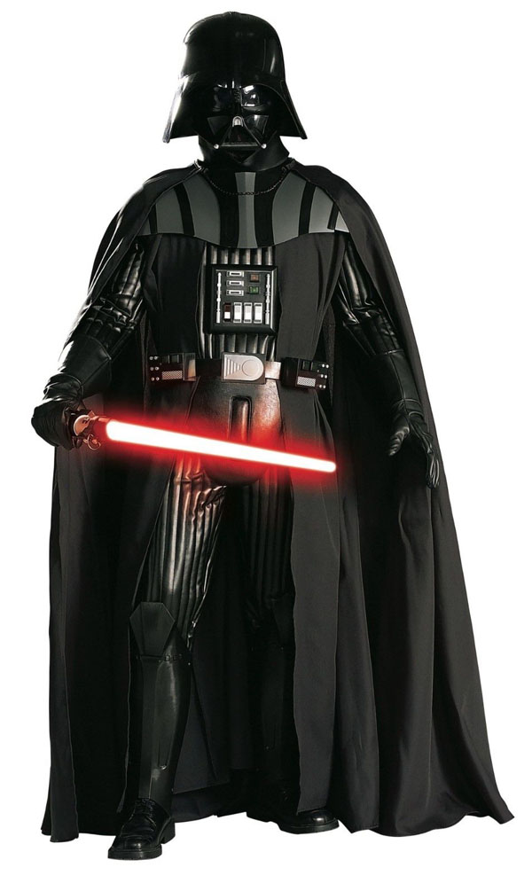 Supreme Edition Adult Darth Vader Costume Front